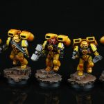 Space Marines Imperial Fists Assault Squad