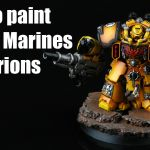 Space Marines Imperial Fists Centurions