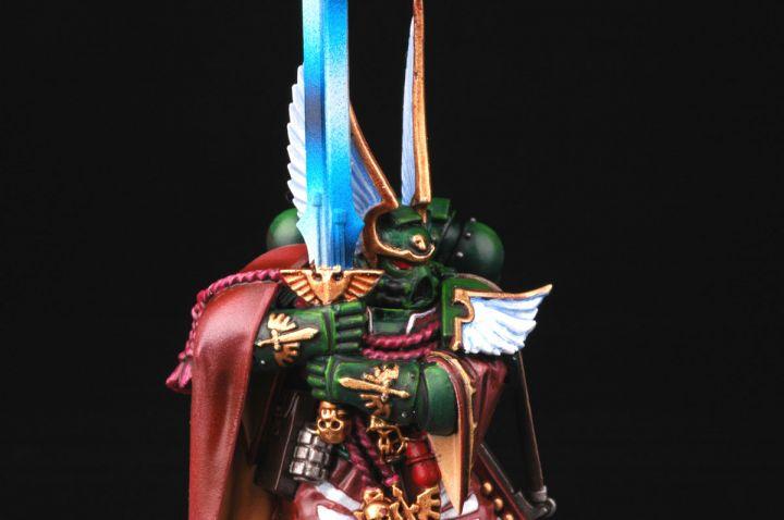 Dark angels company master balthasar wargamingzone com